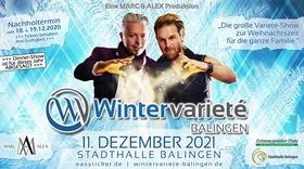 Bild: Wintervarieté: Marc & Alex präsentieren 5. Wintervarieté  Balingen - Die große Varietéshow zur Weihnachtszeit für die ganze Familie