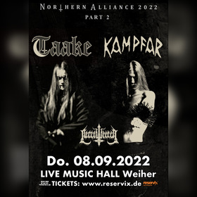 Bild: Taake, Kampfar & Necrowretch - Northern Alliance 2022