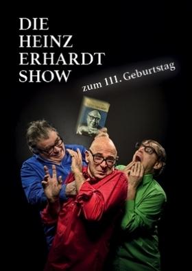Bild: Die Heinz-Erhardt-Show - Günter Fortmeier, Frank Sauer, Volkmar Staub