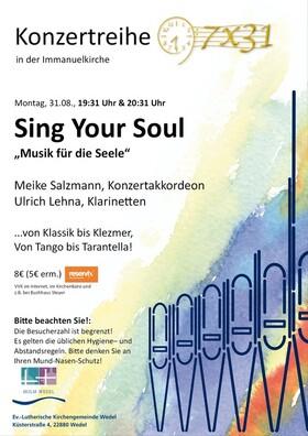 Bild: Sing your soul - Akkordeon und Klarinette I