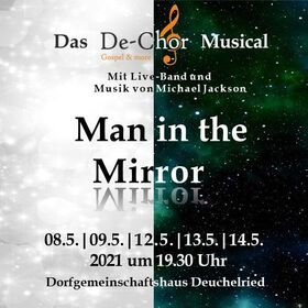 Bild: Man in the Mirror - De-Chor Musical