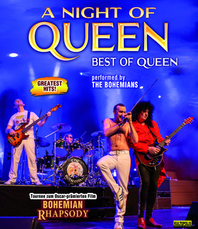 Bild: A NIGHT OF QUEEN - performed by The Bohemians