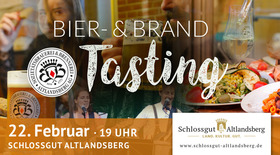 Bild: Exklusives Bier- & Brand-Tasting