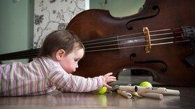 Bild: Babykonzert: Streicheln & Schmeicheln
