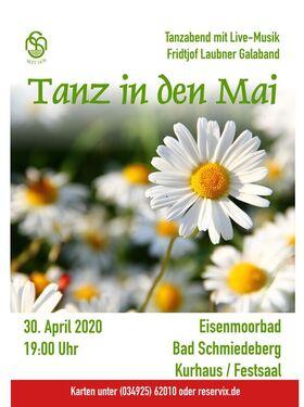 Bild: Tanz in den Mai - Tanzveranstaltung im Jugendstil-Festsaal im Kurhaus Bad Schmiedeberg