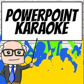 Bild: Powerpoint Karaoke I Moderation: Stefan Dörsing