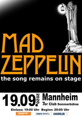 Bild: Mad Zeppelin - Led Zeppelin Tribute Open Air