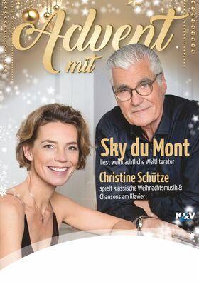 Bild: Weihnachtliche Lesung - Advent mit Sky Du Mont und Christine Schütze