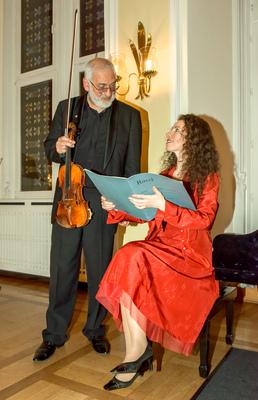 Bild: Anna Tyshayeva & Michel Gershwin - Werke von César Franck u.a.