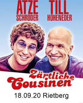 Bild: Atze Schröder & Till Hoheneder - Zärtliche Cousinen