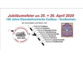 Bild: 150 Jahre Eisenbahnstrecke Cottbus - Großenhain