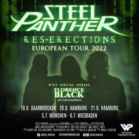 STEEL PANTHER - Heavy Metal Rules Summer Tour 2021