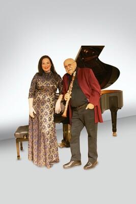 Bild: Giora Feidman und Alina Kabanova - Konzert wird verschoben, neuer Termin steht noch nicht fest