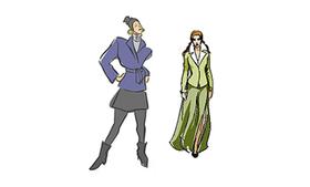 Bild: Modenschau - Modenschau mit MK Mode Nr. 1