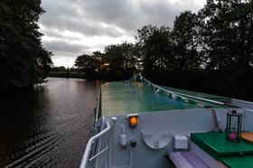Bild: Lichterfahrt - Schifffahrt auf der Medem