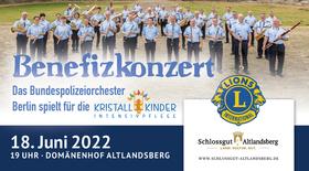 Bild: Benefizkonzert Bundespolizei Big Band Berlin - 25 Jahre Lion's Club zugunsten der Kristallkinder