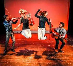 Bild: The Fitzgeralds – the fiddle und step dance familiy - Canadas new Folk sensation