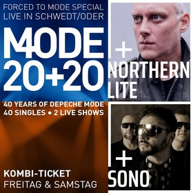 Kombi Ticket Freitag Northern Lite & Forced Mode + Samstag Sono & Forced to Mode