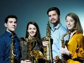 Bild: Waldkonzert Ebonit Saxophone Quartet
