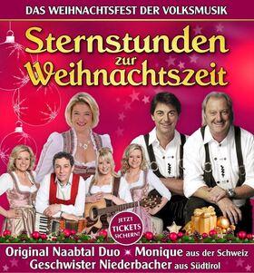 Bild: Sternstunden zur Weihnachtszeit - Original Naabtal Duo, Monique, Geschwister Niederbacher