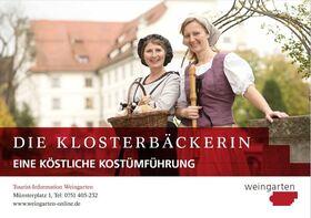 Bild: Die Klosterbäckerin - Eine köstliche Kostümführung 2020 - Die Klosterbäckerin