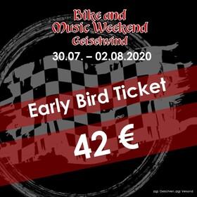 Bild: Bike and Music Weekend 2020 - EARLY BIRD Ticket
