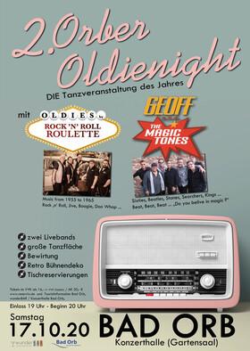 Bild: 2. Orber Oldienight - Das Beste aus der Ära des Rock ´n´ Roll und der Beat-Musik.