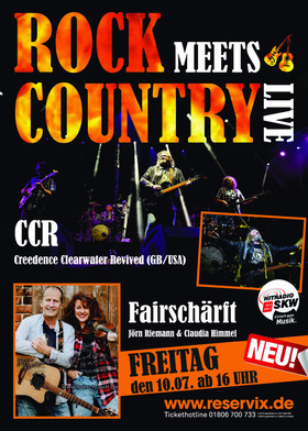 Bild: Creedence Clearwater Revived - Rock meets Country