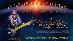 Bild: Uli Jon Roth - Interstellar Sky Guitar - Solo World Tour 2020 - A Fascinating Musical Journey Between Two Worlds