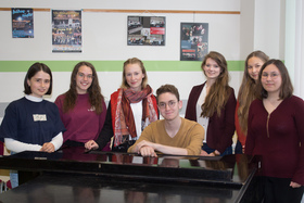 Bild: CLACKsprungbrett • Podium junger Künstler der Kreismusikschule Wittenberg • Gitarrenschüler  solo und kammermusikalisch