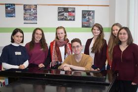 Bild: CLACKsprungbrett • Podium junger Künstler der Kreismusikschule Wittenberg • Gesang Unterstufenabschlussprüfung