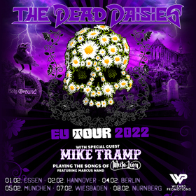 Bild: THE DEAD DAISIES - European Tour 2021
