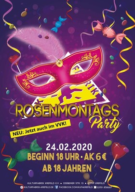 Rosenmontags Party