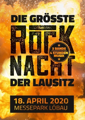 Bild: Die größte Rocknacht der Lausitz mit drei Bands - mit tributes to AC DC, Kiss und Motörhead