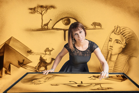 Bild: Sandmalerei-Show - Fantasy World