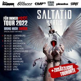 Bild: SALTATIO MORTIS - FÜR IMMER FREI! TOUR 2022 - BRING MICH ZURÜCK