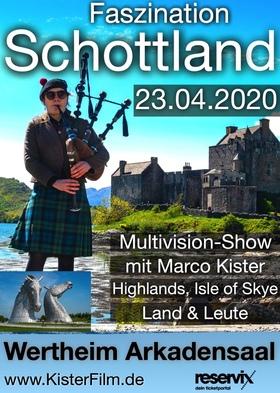 Bild: Faszination Schottland - packende live Multivision-Show von und mit Marco Kister