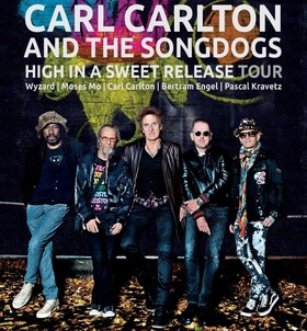 Bild: CARL CARLTON & The Songdogs - High in a Sweet Release Tour 2020