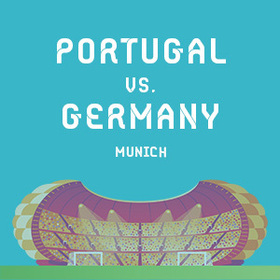 Bild: PORTUGAL - GERMANY   Parking Ticket