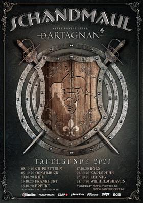 "Schandmaul ""Tafelrunde 2020"" - + very special guest: dArtagnan"