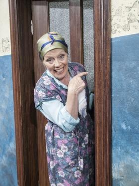 Tratsch im Treppenhaus - Lustspiel von Jens Exler - Mit Heidi Mahler