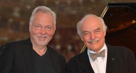 Bild: Charles Brauer (Sprecher); Günther Brackmann (Klavier)