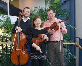 Bild: Pardall-Trio und Christine Rahn, Klavier