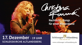 Bild: Christina Rommel live - Nachtlicht: Songs für einen Winterabend