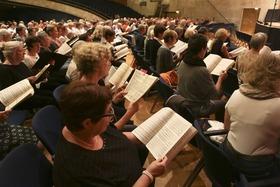 Bild: Das Publikum singt: Opernchöre, die begeistern