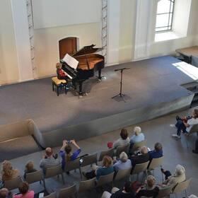 Bild: Das erste Konzert