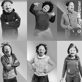 Bild: Klasse Glück - Masken-Beatbox-Theater