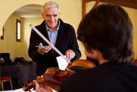 Holzhausenkonzerte - Streichquartettfestival - Einführungsveranstaltung 1 mit Prof. Eberhard Feltz und dem Eliot Quartett