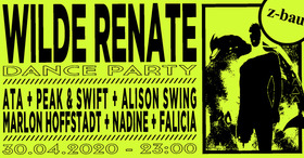 Bild: Wilde Renate Dance Party - Ata + Peak & Swift + Alison Swing + Marlon Hoffstadt + Nadine + Falicia
