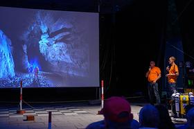 Bild: ARGE Blautopf: Neues aus der Blauhöhle